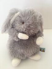 "Bunnies by the Bay gray Rabbit Plush 6"" Stuffed Animal"