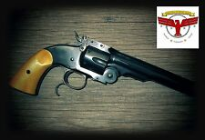 UBERTI SCHOFIELD AGED IVORY GRIPS ~CIMARRON NAVY ARMS STOEGER TAYLORS SCOFIELD ^