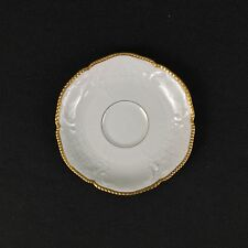 Rosenthal Selb Germany Sanssouci ONE Orphan Saucer White Thick Gold Rim