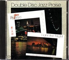 Double Disc Jazz Praise John Mehler & Kenneth Nash -Light the Night CD -RARE