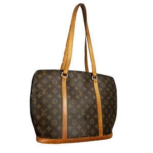 Louis Vuitton LV Monogram Babylon M51102 tote bag ladies used O 5-86-C21LV