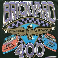 Vintage 1994 Brickyard 400 Inaugural Race Shirt Nascar Medium Single Stitch