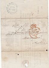 * 1847 OHMS RED CROWN PAID LONDON TO BROCKLEHURST MACCLESFIELD RE LAND REVENUES