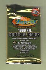 1999 Topps Finest Hobby Football Pack 6 Cards