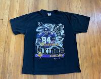 Minnesota Vikings Vintage 90's Randy Moss Sport Attack Shirt Mens XL EUC Rare