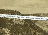 Geislingen an der Steige - Blick ins Tal -  um 1935       U 11-31