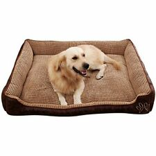 AcornPets® B-603 Deluxe Coffee Color Extra Large Dog Bed Cat Pet Pillow Fleece