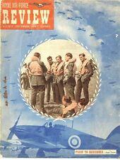 RAF REVIEW SEP 47 DOWNLOAD VOUCHER/WAAF CENTRAL BAND/ STAFF COLLEGE/RAF SHAWBURY
