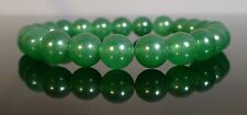 Green Agate Stone GEMSTONE Crystal Beaded Stretch BRACELET