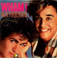 "WHAM! ""WAKE ME UP BEFORE YOU GO-GO"" (12"" SINGLE"" PREMIUM QUALITY USED LP (NM/NM)"