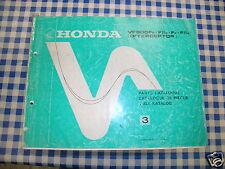 BB 13MF2E23 Catalogo Parti di Ricambio HONDA VF 500 F INTERCEPTOR Ediz. 1986
