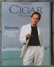 CIGAR AFICIONADO GENTLEMANS MAGAZINE 1998 JUNE MICHEAL DOUGLAS CUBA CORONA GOLF
