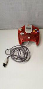 Official Sega Dreamcast Clear Red Controller HKT-7700 OEM