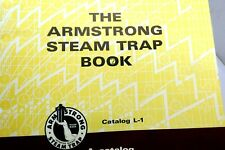 ARMSTRONG Machine Works Steam Traps Catalog ASBESTOS Gaskets 1971