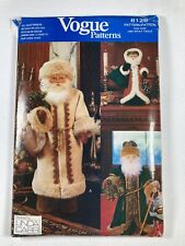 Vogue Patterns 8126 Father Christmas Doll sewing pattern