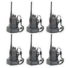 Walkie Talkie 2 Two Way Radio Frs Gmrs Mile 6 Pack Motorola Paintball Handheld N