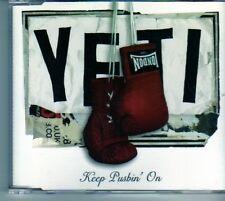 (DM662) Yeti, Keep Pushin' On - 2005 CD