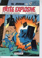GIL JOURDAN 12 PATEE EXPLOSIVE (M.TILLIEUX) 1983 TBE