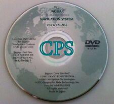 2003 2004 JAGUAR XJ SERIES XJ8 XJR NAVIGATION MAP CD DVD 464210-5011 OEM