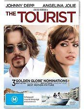 THE TOURIST - BRAND NEW & SEALED DVD (JOHNNY DEPP, PAUL BETTANY, ANGELINA JOLIE)