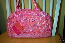 Vera Bradley Retired New Hope Toile Lola Bowler Style Bag