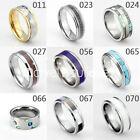 Men / Women Tungsten Carbide Ring Inlay Style Wedding Anniversary Band Size 4-15