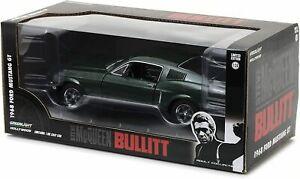 GreenLight Collectibles - 1:24 Bullitt (1968) - 1968 Ford Mustang GTFastback
