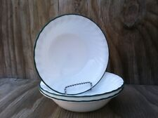 Corelle Callaway Swirled Rimmed 18 Oz. Soup, Cereal Or Salad Bowls Set Of 3