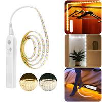 Smart LED Strip Light PIR Motion Sensor Hallway DIY Makeup Lamp Battery Operated
