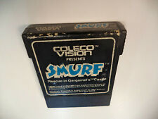 Smurf Rescue In Gargamel's Castle Colecovision Coleco Vision Game Cart CARTRIDGE