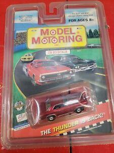 Model Motoring Tyco AFX Red Yenko Camaro Black Stripe HO RTR Mid America