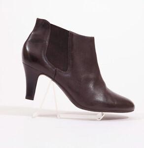 Alex Marie slip On Dark Brown Ankle Boots US 9.5 M