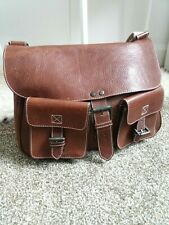 Mulberry Brown Leather Satchel Messenger Bag Mens