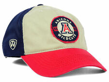 Arizona Wildcats NCAA Stone Navy Red Flex fit Hat Relaxed fit Cap M/L