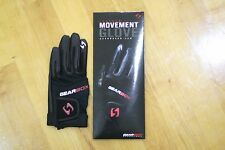 GEARBOX RACQUETBALL GLOVE. MOVEMENT. BLACK. RIGHT HAND LARGE L. 1 GLOVE