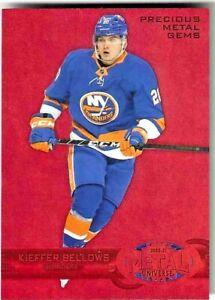 20-21 UD Metal Hockey #R-34 Kieffer Bellows PMG Red #d /100 Islanders
