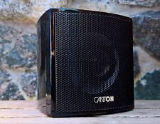 1x 2-Wege Canton CX Satelliten Lautsprecher * 100W Klavierlack schwarz glänzend