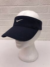 7acd74165f878 Nike Adjustable Visor Cap Hat Navy Blue One Size Fits Most Adult