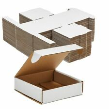 Corrugated Shipping Boxescardboard Mailers Folding Lids4x4x1 In 50 Pack