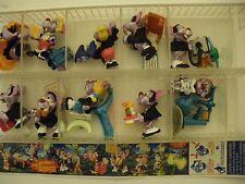 I Tenebrosi Vampirelli  Kinder sorpresa dipinti a mano 10 personaggi  (MQX)