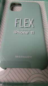 Brand New Merkury Innovations SILICONE iPhone 11/XR Mint Green Phone Case
