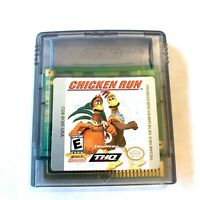 Chicken Run NINTENDO GAMEBOY COLOR GAME Tested + WORKING & Authentic!