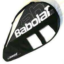 """Babolat Tennis Racket Bag Case Single Black 29"""" Padded Zip Handle Spell-Out"""