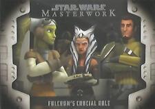 Star Wars Masterwork 2017 - LP-2 Evolution of the Rebel Alliance Chase Card