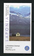 R594 Sweden 2004 scenic views mountains Europa BOOKLET MNH