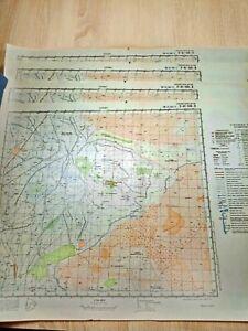 Russian Soviet Military Topographic Map U-41-144-V У-41-144-В 1978 1:50000