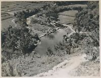 1945 WWII Okinawa Photo #22 locals washing clothes