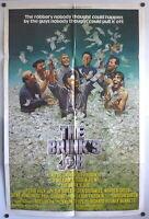 Peter Falk The Brink's Job Original 70s 1 Sheet Movie Poster Peter Boyle Oates