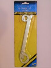 Tuff Tools Universal Wrench Double Box End Swivel 7-13mm and 14-22mm NOS