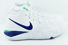 Nike Kyrie 4 IV Mens Size 11 Basketball Shoes White Seahawks 943806 103 d745ac084